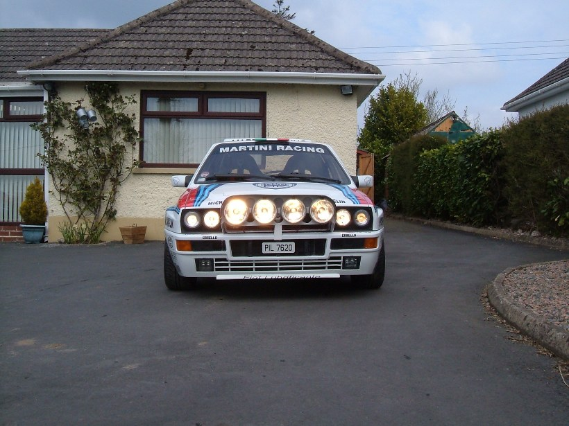 Lancia integrale Works Martini Rally @ maranellohouse.net
